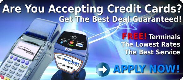 Are You Accepting Credit Card?  Get The Best Deal Guaranteed!  Free Merchant Account, Free Terminal, Lowest Rates!